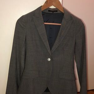 Theory suit Grey size 0